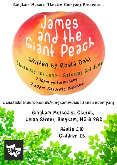James and the Giant Peach ACTUAL Poster